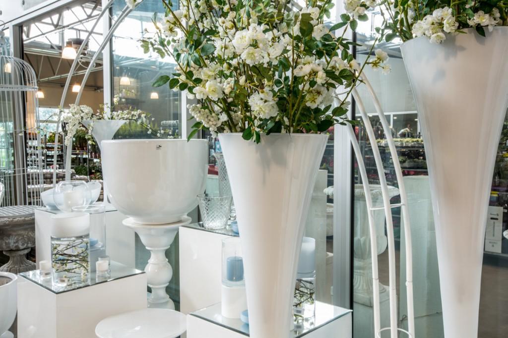 Vasi Bianchi Per Fiori Da Esterno.Vasi Da Esterno Di Design Moderni O Vintage Lombarda Flor